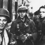 Polish Scouts fighting in the Warsaw Rising